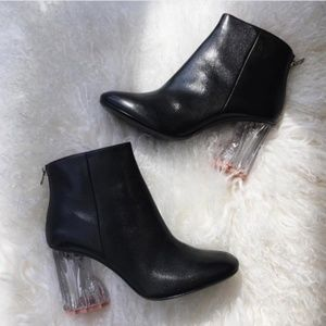 Shoes - Icicle Heel Ankle Boots